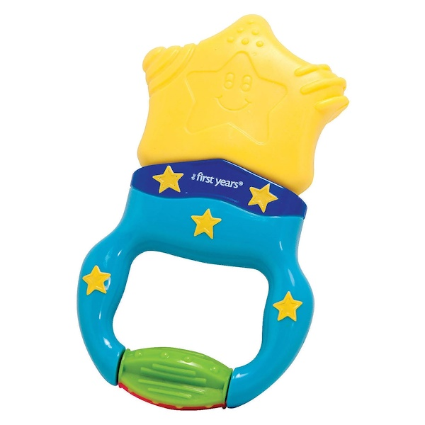 The First Years, Massaging Teether, 6 + Months, 1 Teether (Discontinued Item)