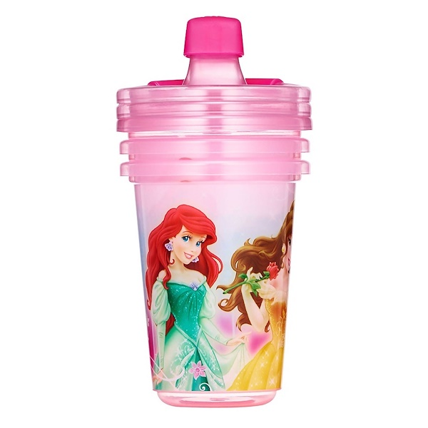 The First Years, Disney Princess, Take & Toss Sippy Cups, 9+ Months, 3 Pack - 10 oz (296 ml) (Discontinued Item)