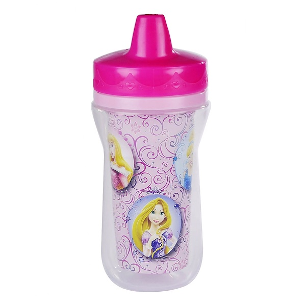 The First Years, Disney Princess, Insulated Sippy Cup, 9+ Months, 9 oz (266 ml) (Discontinued Item)