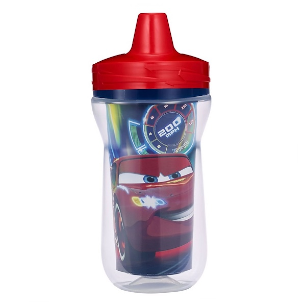 The First Years, Disney Pixar Cars, Insulated Sippy Cup, 9+ Months, 9 oz (266 ml) (Discontinued Item)