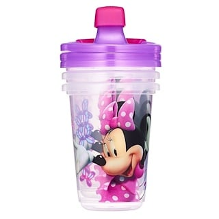 The First Years, Minnie Mouse de Disney, tazas antiderrame, para mayores de 9 meses, paquete de 3, 10 oz (296 ml)