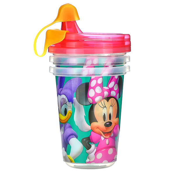 Disney Minnie Mouse, Sippy Cups, 9+ Months, 3 Pack - 10 oz (296 ml)