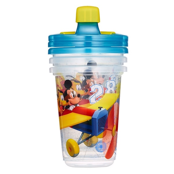 The First Years, Disney Mickey Mouse, Take & Toss Sippy Cups, 9+ Months, 3 Pack - 10 oz (296 ml) (Discontinued Item)