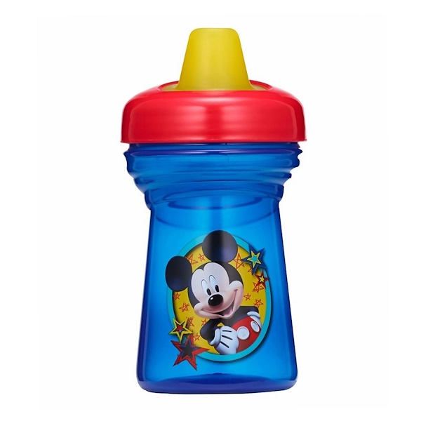 The First Years, Mickey Mouse Soft Spout Cup, 9m+, 9 oz (266 ml) (Discontinued Item)