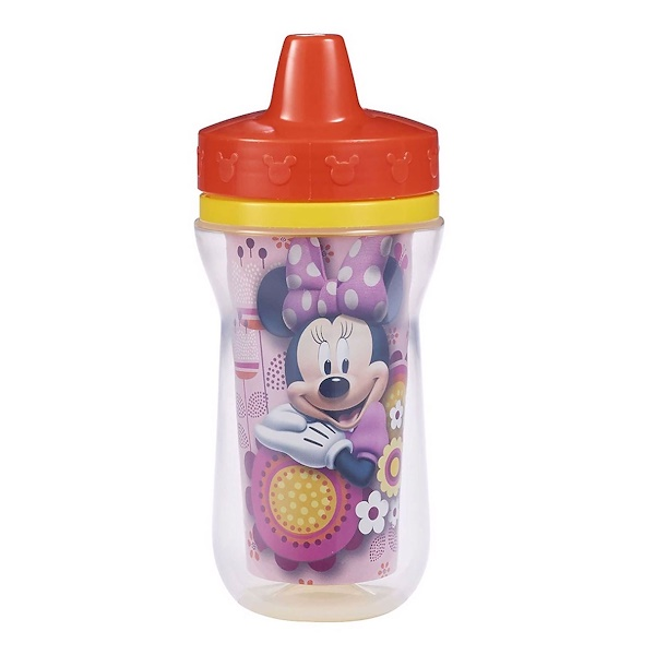 The First Years, Minnie Mouse Insulated Sippy Cup, 9 + Months, 9 oz (266 ml) (Discontinued Item)