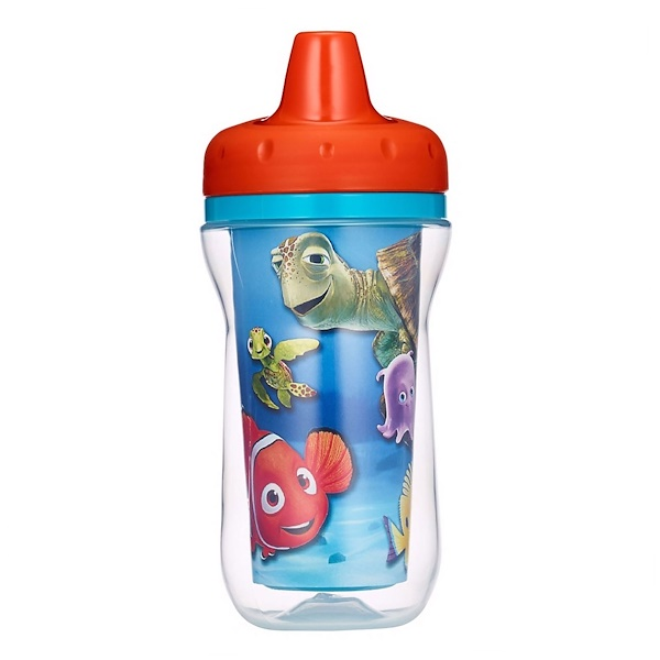The First Years, Disney Pixar Finding Nemo, Insulated Sippy Cup, 9+ Months, 9 oz (266 ml) (Discontinued Item)