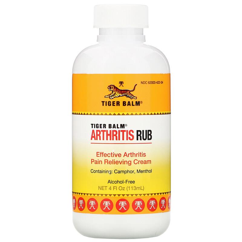 Arthritis Rub, Alcohol-Free, 4 fl oz (113 ml)