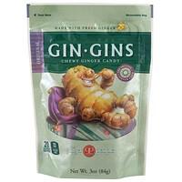 The Ginger People, Gin·Gins, 쫄깃한 생강 캔디, 오리지널, 3 oz (84 g)