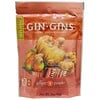 The Ginger People, Gin·Gins، حلوى زنجبيل للمضغ، تفاح حار، 3 أونصة (84 غ)