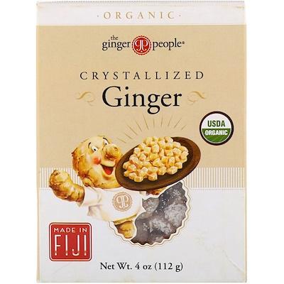 The Ginger People 有機蜜餞生薑,4 盎司(112 克)