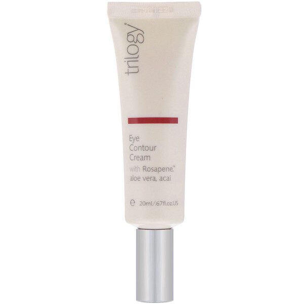 Trilogy, Eye Contour Cream, .67 fl oz (20 ml)