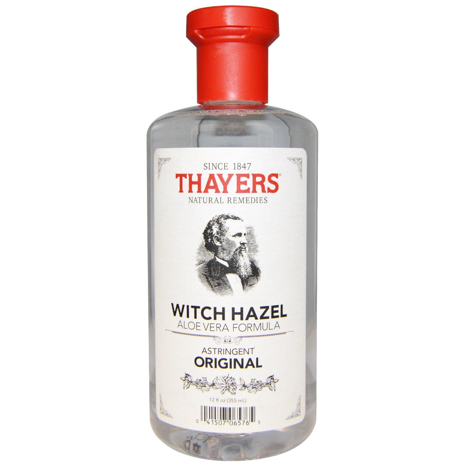 Thayers, Оригинальная формула с гамамелисом и алоэ вера, 12 жидких унций (355 мл)