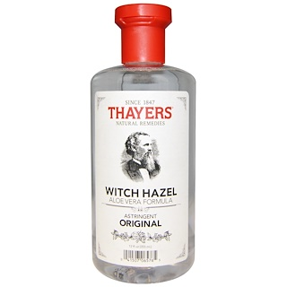Thayers, Fórmula Original de Hamamelis y Aloe, 12 fl oz (355 ml)
