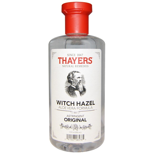 Thayers, Witch Hazel, Aloe Vera Formula, Original, 12 fl oz (355 ml) (Discontinued Item)