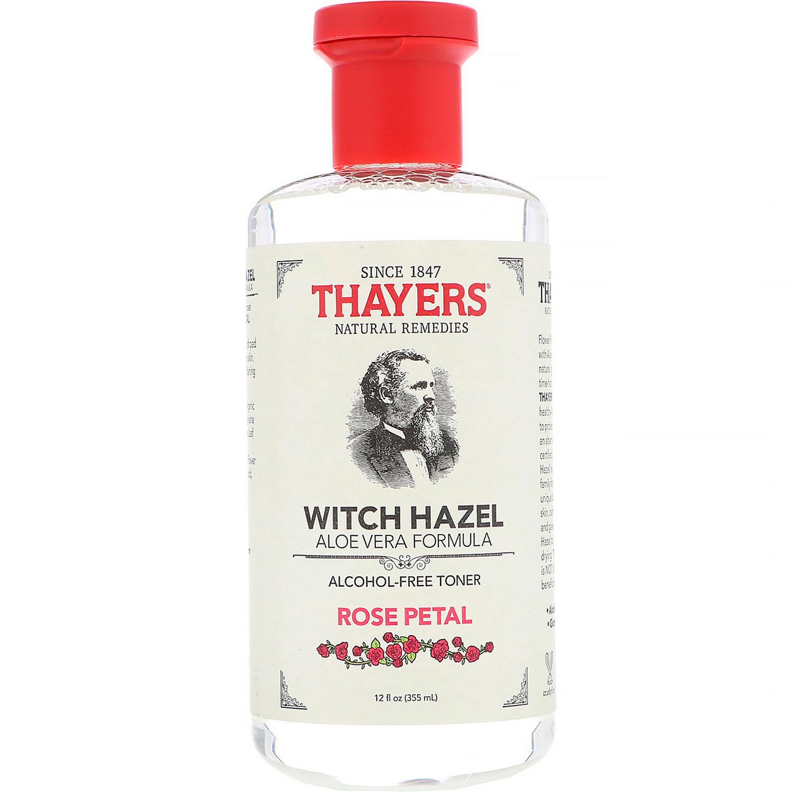 Thayers, Witch Hazel, Aloe Vera Formula, Alcohol-Free Toner, Rose Petal | 9 Best Toners in Singapore for Every Skin Type | magazine.vaniday.com