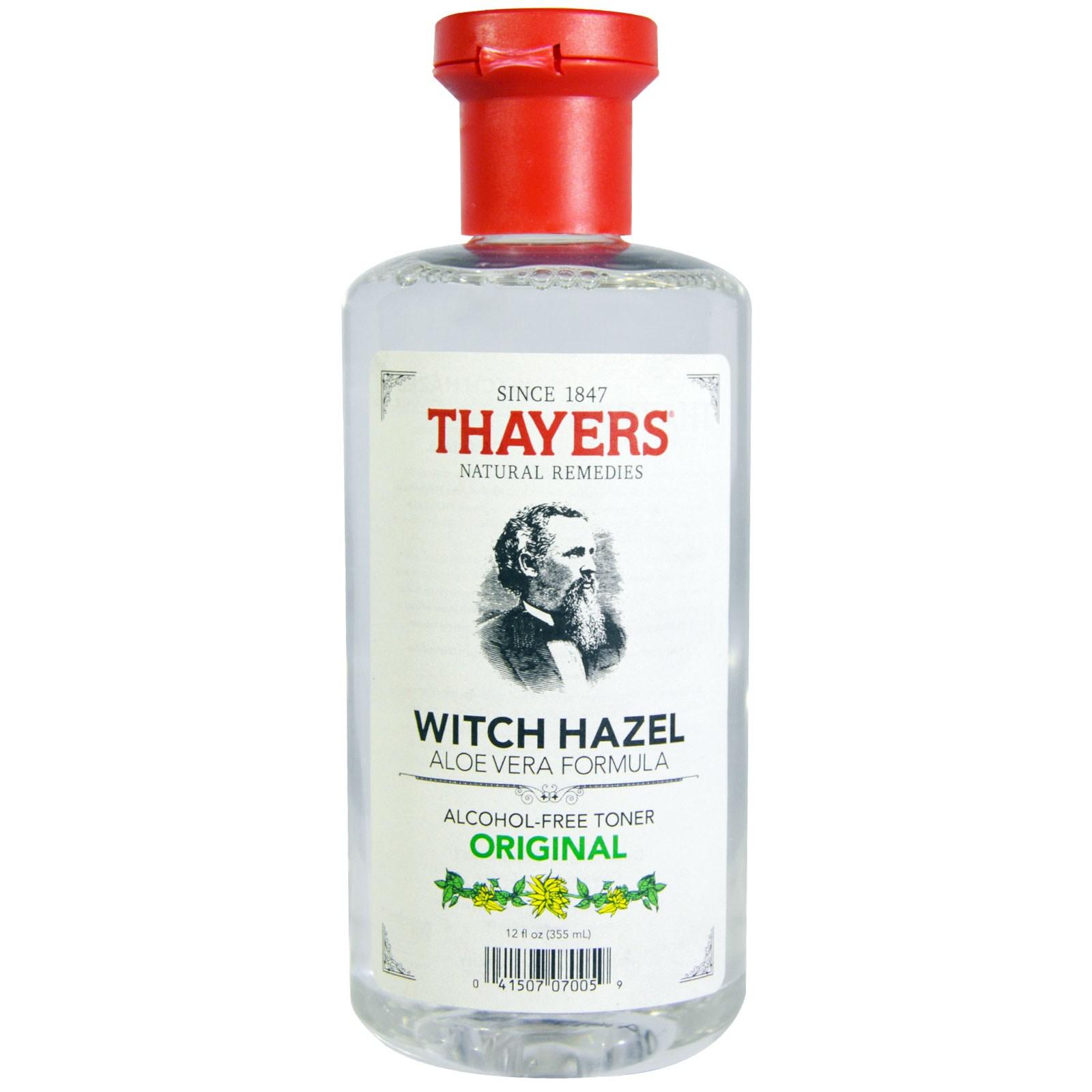 Thayers Witch Hazel with Aloe Vera, Original Astringent 12 oz (Pack of 2) origins ritualitea matcha powder face mask