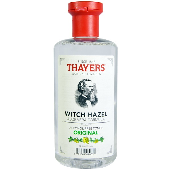 Thayers, Witch Hazel, Aloe Vera Formula, Alcohol-Free Toner, Original, 12 fl oz (355 ml) (Discontinued Item)