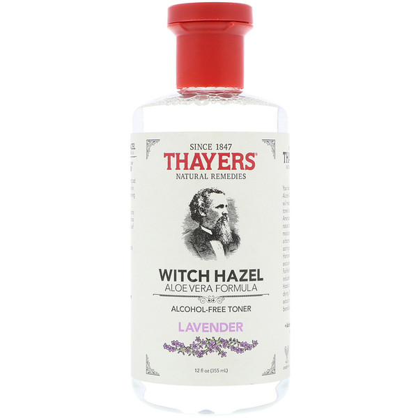 Thayers, Witch Hazel, Aloe Vera Formula, Alcohol Free Toner, Lavender, 12 fl oz (355 ml) (Discontinued Item)