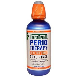 TheraBreath, PerioTherapy, Healthy Gums Oral Rinse, Alcohol Free, 16.9 fl oz (500 ml)