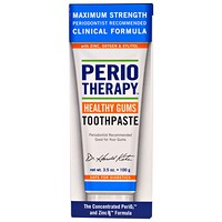PerioTherapy, уход за деснами, зубная паста, натуральный мятный вкус, 3,5 унции (100 г) - фото