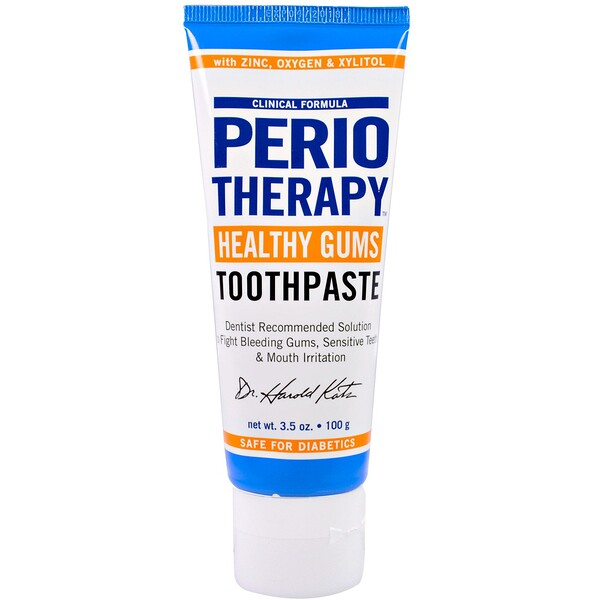 TheraBreath, PerioTherapy Healthy Gums Toothpaste, 3.5 oz (100 g)