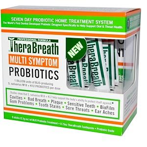 ТераБрет, Multi-Symptom ProBiotics, 9 Sticks, (2.7 g) Each отзывы