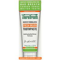 Освежающая дыхание зубная паста, с мягким мятным вкусом, 4 унции (113,5 г) - фото