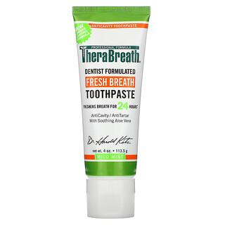 TheraBreath, Fresh Breath Toothpaste, Sabor Suave a Menta, 113,5 g (4 oz)