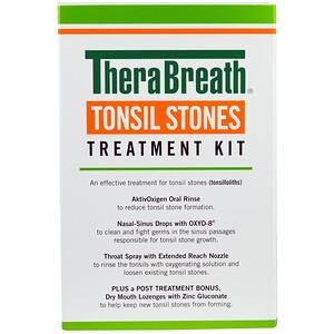 ТераБрет, Tonsil Stones Treatment Kit, 5 Piece Kit отзывы