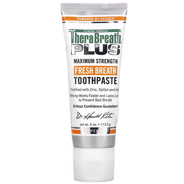 Fresh Breath Toothpaste, Peppermint, 4 oz (113.5 g)