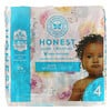 The Honest Company, Honest Diapers, Size 4, 22 - 37 Pounds, Rose Blossom, 23 Diapers