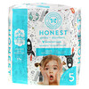 The Honest Company, Honest Diapers 太空漫遊紙尿褲(尺寸 5),適用於 27 磅以上嬰幼兒,20 片裝