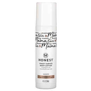 The Honest Company, Sweet Curves Body Lotion, Unscented, 8 fl oz (236 ml)