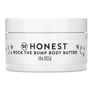 The Honest Company, Rock the Bump Body Butter, Unscented, 4 oz (113.3 g)