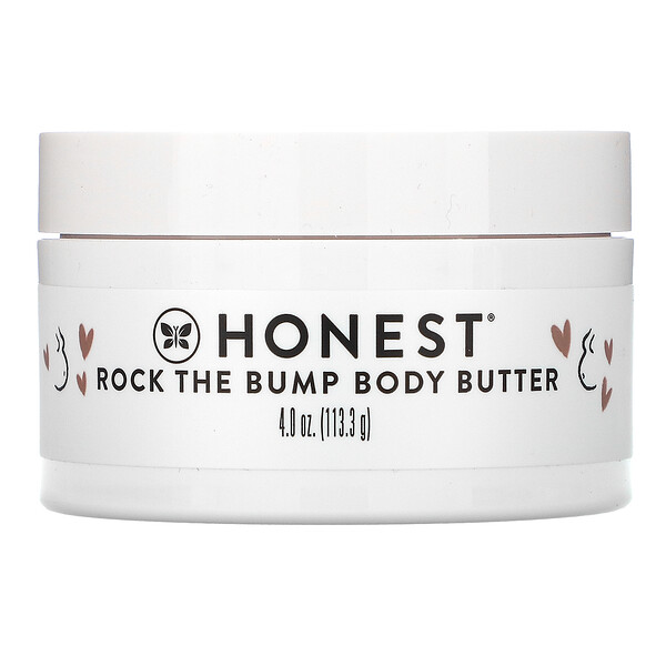 Rock the Bump Body Butter, Unscented, 4 oz (113.3 g)