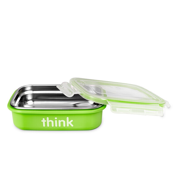 Think, Thinkbaby, The Bento Box, Light Green, 9 oz (250 ml) (Discontinued Item)