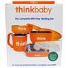 Think, Thinkbaby، مجموعة التغذية كاملة خالية من BPA، البرتقال، 1 مجموعة