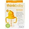 Think, Thinkbaby, Thinkster Straw Bottle, Orange, Stage D, 9 oz