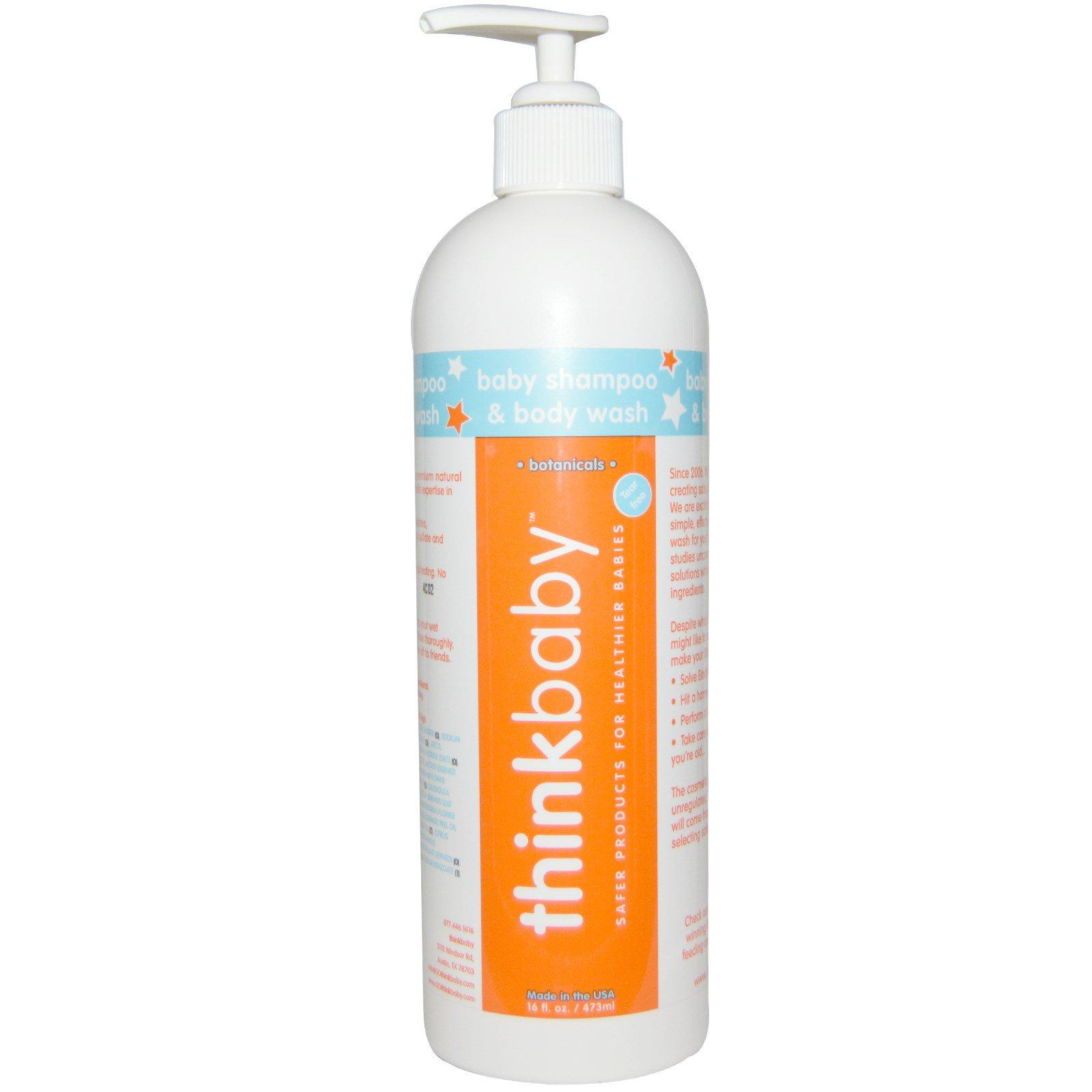 Think, Thinkbaby, Детский шампунь волос и тела, 16 жидких унций (473 мл)