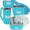 Think, コンプリート BPAフリー・フィーディングセット、 ライトブルー、1組