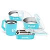 Think, Thinkbaby, The Complete BPA-Free Feeding Set, Light Blue, 1 Set