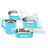 Think, El Conjunto Completo para Dar de Comer sin BPA, Azul Claro, 1 Conjunto