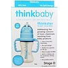 Think, Thinkbaby, Thinkster Straw Bottle, Stage D, Blue, 9 oz