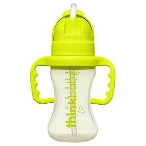 Синк, Thinkbaby, Thinkster Straw Bottle, Stage D, Green отзывы