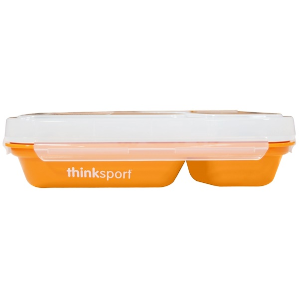 Think, Thinksport, GO2 Container, Orange, 1 Container (Discontinued Item)