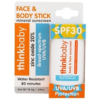 Think, Thinkbaby, Sunscreen Stick, SPF 30, 0.64 oz (18.4 g)