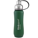 Отзывы о Think, Thinksport, герметичная бутылка для спортсменов, зеленая, 17 унций (500 мл)