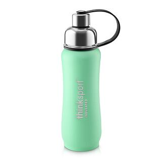 Think, Thinksport, Insulated Sports Bottle, Green, 17 oz (500ml)