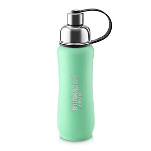 Синк, Thinksport, Insulated Sports Bottle, Green, 17 oz (500ml) отзывы покупателей