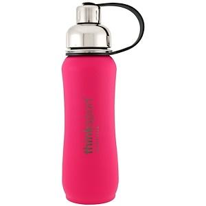 Синк, Thinksport, Insulated Sports Bottle, Dark Pink, 17 oz (500 ml) отзывы покупателей